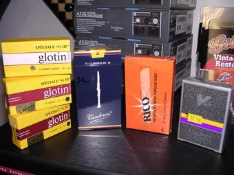 Hanches pour clarinettes et saxophones