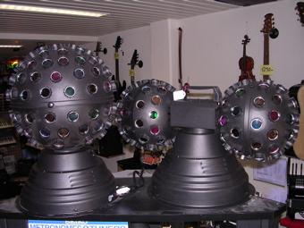 Boules disco électriques
