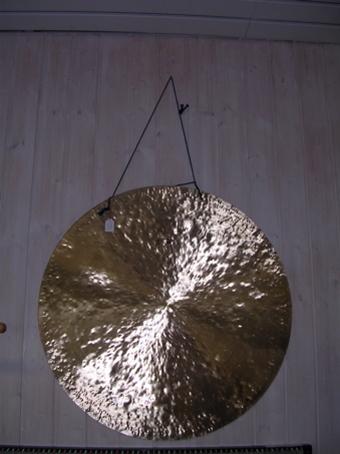 Gong en laiton