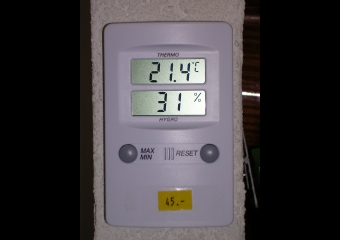 Hygromètre thermomètre