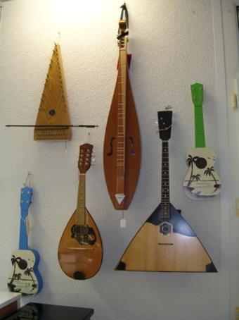 Instruments à cordes exotiques