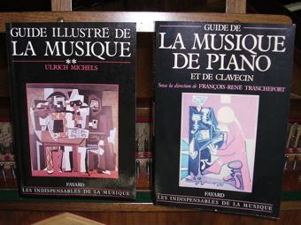 Livres et dictionnaires de la musique