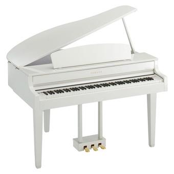 Piano à queue numérique blanc