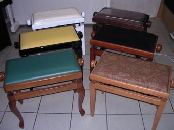 Sièges pour pianos et harpes
