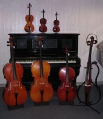 Violons et violoncelles