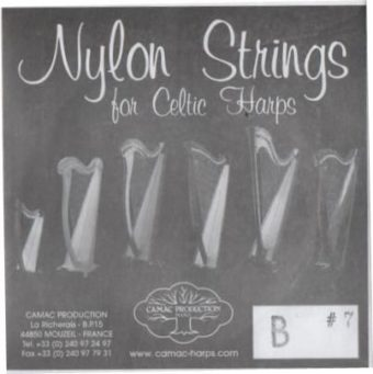 cordes harpe