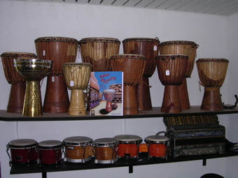 Djembes africains