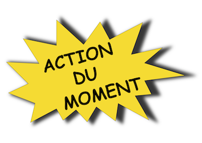 étiquette action