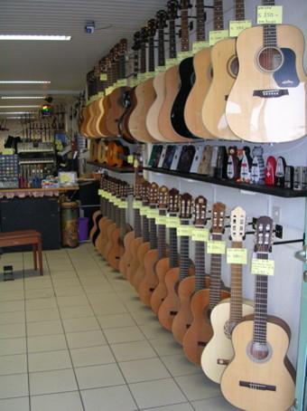 Guitares classiques et folk