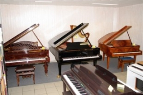 Pianos à queue