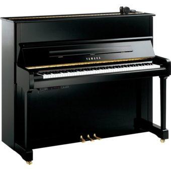 piano-droit-yamaha-P121-silent-SH2-noir