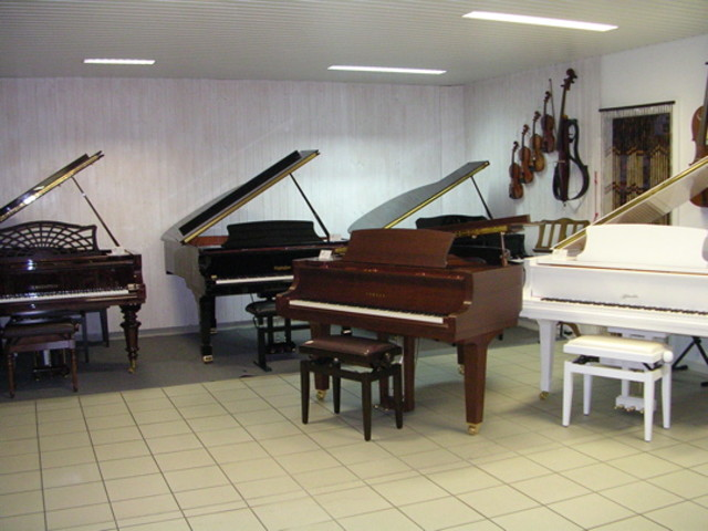 Pianos à queue neufs