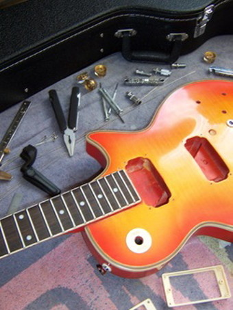 Réparation de guitares